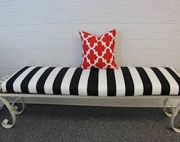 bench cushion cover etsy