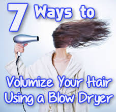 Hair Dryer Volume 7 ways to volumize hair with a dryer