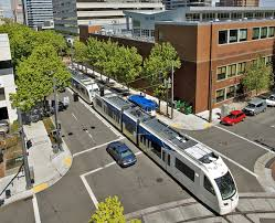 Google Map Portland Oregon by Max Light Rail Travel Portland