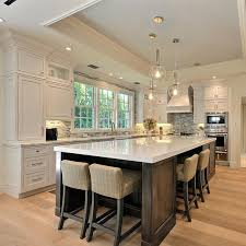 island for kitchens beautiful kitchen with large island humble abode
