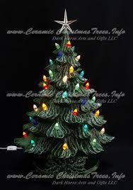 vintage ceramic christmas tree ceramic christmas tree vintage style 19 inches ceramic christmas