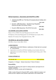 hr executive resume sample in india resume for senior hr executive starengineering