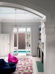 floor master bedroom a modern house with a wraparound swimming pool design