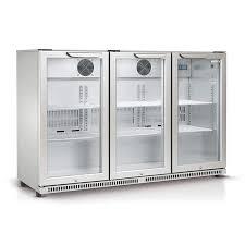 glass door bar fridge perth husky refrigeration 307 litre triple glass door bar fridge