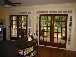 glass wood doors the best option for sliding glass door replacement 3 panel