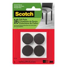 Furniture Sliders Walmart 4 In Round Magic Sliders 4 Pack 04100 The Home Depot