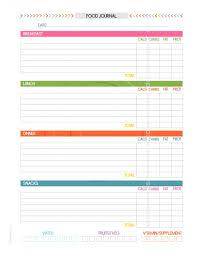 printable daily food intake journal 2016 2017 printable planner daily life planner life by mom