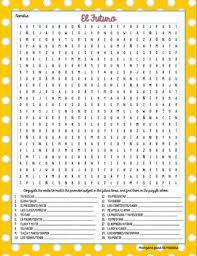 future tense word search worksheet fun exercise by manzana para la
