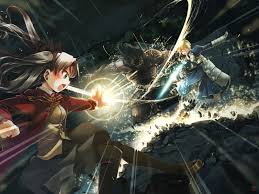 anime wallpapers girls sword fighting anime fight wallpapers wallpaper cave