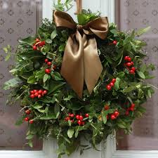 Decorating Christmas Wreaths by Christmas Wreaths Decorating Ideas With Ribbons And Bows