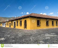 yellow colonial style house royalty free stock photo image 29679185