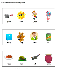 pictures on rhyming pictures worksheet wedding ideas
