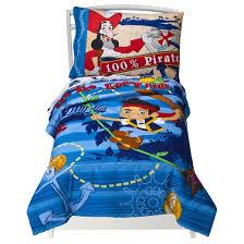 disney jake neverland pirates 4 piece bedding