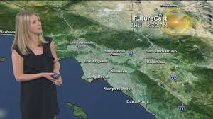Weather Map Los Angeles by Evelyn Taft U0027s Weather Forecast May 31 Youtube