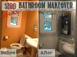 easy bathroom makeover ideas inexpensive bathroom makeover ideas fancy idea cheap bathroom