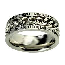 armor of god necklace armor of god chain ring in mens rings ldsbookstore st