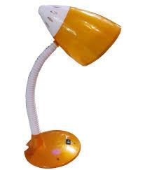 glitz study table lamp orange colour cutex 600 buy glitz study