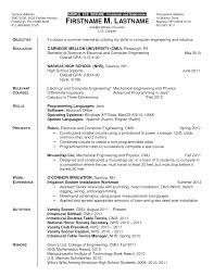 Sle Resume For Mechanical Engineer Diploma Resume Sle 28 Images Mechanical Engineer Resume Sles