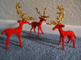 pipe cleaner reindeer pipe cleaner animals pinterest pipes