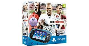 amazon com playstation vita wi sony playstation vita wifi console with fifa football voucher and