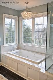 Backsplash Bathroom Ideas by Bathroom Master Bathroom Chandeliers Using Boxed Square Tub Also