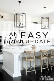 easy kitchen update ideas an easy kitchen update that makes a difference lemonade