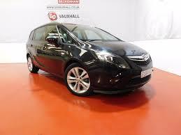 used vauxhall zafira tourer black for sale motors co uk