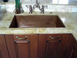 Kitchen Sink Copper Copper Undermount Kitchen Sink Brew Home