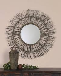 Large Decorative Mirrors Interior Black Decorative Mirrors Pertaining To Leading Wall