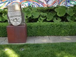 sculpture in the garden dirt simple