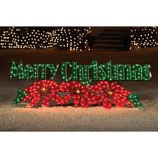 living 72 in merry outdoor lighted sign