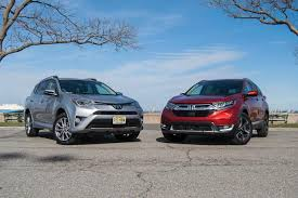 size of toyota rav4 comparison test 2017 honda cr v vs 2017 toyota rav4 ny daily
