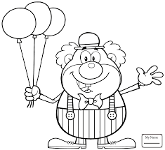 printable coloring pages clown coloring page free printable