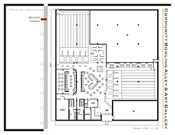 bowling alley floor plans home fatare