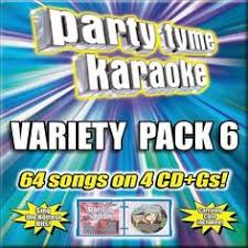 Party Tyme Karaoke Christmas Pack - party tyme karaoke christmas party pack 4 cd gs ebay cds
