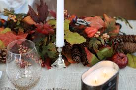 Home Decorations For Cheap Thanksgiving Table Scape Positively Oakes