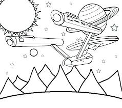 Coloriages De Star Trek Star Coloriage Star Trek  kheckinfo