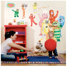 gabba giant wall decals toy box giant wall decals toy box