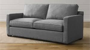 Down Sectional Sofa Davis Down Blend Sofa Crate And Barrel