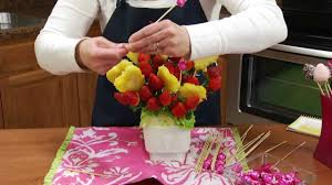 edibles fruit baskets how to make an edible strawberry pineapple fruit arrangement