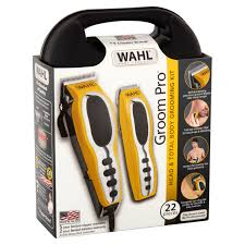 wahl 79520 3101p groom pro total body hair clipper grooming kit