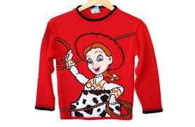 story tacky sweater s size 7 8 medium m
