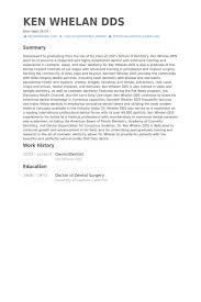 owner dentist resume samples visualcv resume samples database