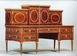 bureau à gradin bureau à gradin attributed to christian meyer circa 1790