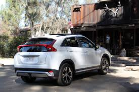 mitsubishi sports car 2018 2018 mitsubishi eclipse cross review autoguide com news