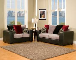 Red Sofa Set Sofas Center Image 1280x933 Microfiber Faux Leather Contemporary
