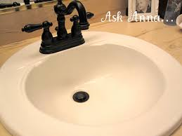 a quick tip for cleaning bathroom sinks ask anna