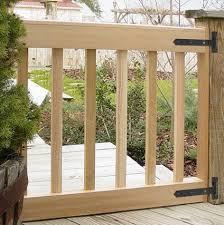 custom deck gates in your size u0026 slat spacing cedar gates usa made