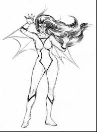brilliant spider superhero coloring pages woman
