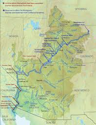 Green River Utah Map by Kathleen Velo Map Of Colorado River From Headwaters In Northern